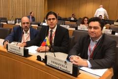 En Reunión de la Internacional Socialista, junto a delegación de VP Carlos Vecchio y Lester Toledo (2016)