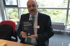 En la presentación del libro Impacto de la Corrupción de los DDHH, en instituto Max Planck de Heidelberg (2018)