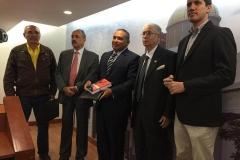 Presentación de libro Leyes Mutiladas de la dictadura junto a JUAN GUAIDÓ, OLLARVE, ISMAEL GARCÍA, BALLARDO RAMÍREZ MONAGAS - COMISIÓN DE POLÍTICA INTERIOR DE LA ASAMBLEA NACIONAL