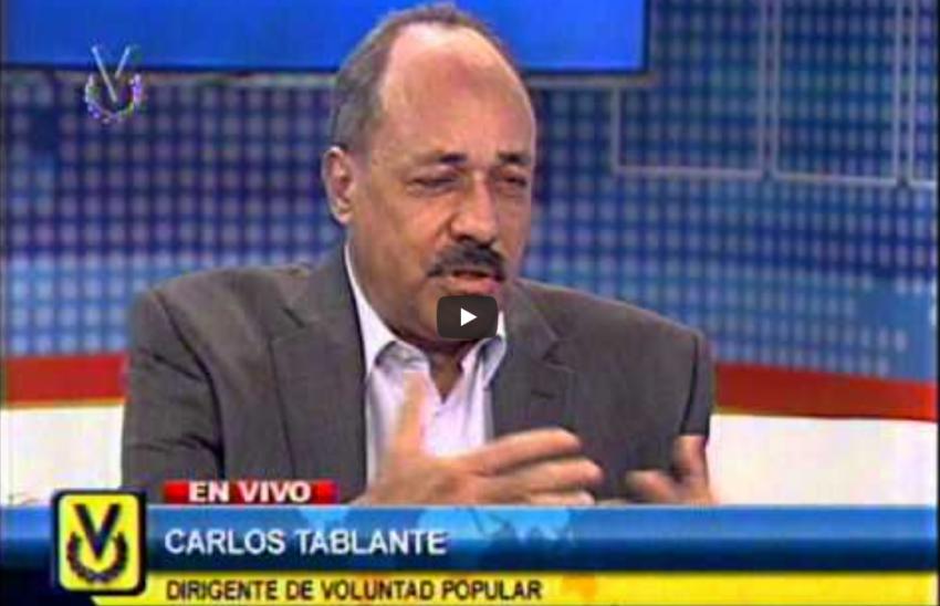 Entrevista Venevisión, emisión meridiana: Carlos Tablante, dirigente de Voluntad Popular